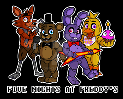 FNaF T-shirt by DrFoxes