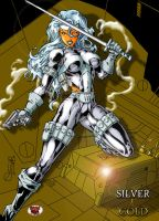 TGK's SILVER SABLE by DeadDog2007