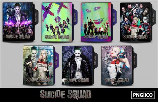 Suicide Squad (2016) Folder Icons by OnlyStyleMatters