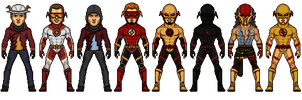 Speedsters by Melciah1791