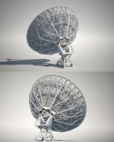 Radio Telescope | back by abdelrahman
