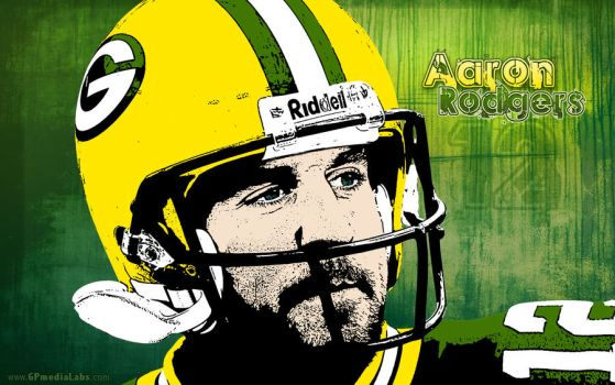 Packer Wallpaper Aaron Rodgers by gp-media-labs