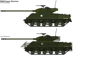 M4A5 Super Sherman by PaintFan08