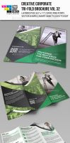 Creative Corporate Tri-Fold Brochure Vol 32 by jasonmendes
