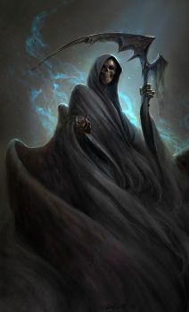 Grim Reaper for Sketch Dailies by SulaMoon
