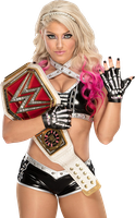Alexa Bliss - RAW Women's Champion Render #3 by BadLuckShinska