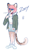 Zoey Ref by captyns
