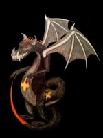 Dragon. :3 (Gift for L0wlif3furry) by Palasferas