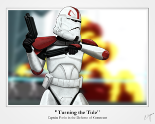 Captain Fordo - 'Turning the Tide' by graphicamechanica