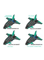 ADPI MF-28 'Cetus' (Engines) by StrayCat-Terry