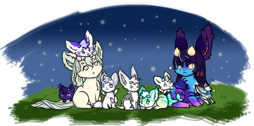 Starfall Gifting #2 2018 by AliLV