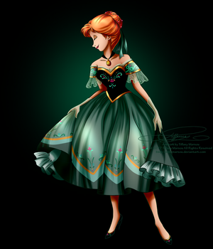 Disney Haut Couture - Anna by selinmarsou