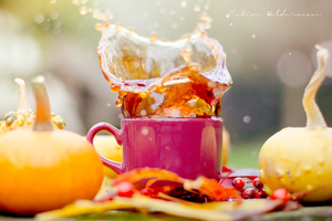Fresh autumn tea by Pamba