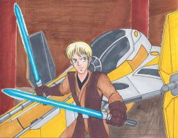 Commission: Merrick the Jedi by mayorlight