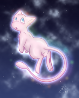 Number 151 Mew by The-Clockwork-Crow