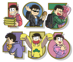 Matsuno Bros. by kouno-B