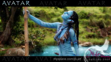 Neytiri final product by Official-AmyFantasy