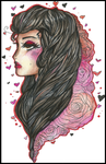 |The Look of Love| (AT: Celeste Ally) by QuyaKillaLuna