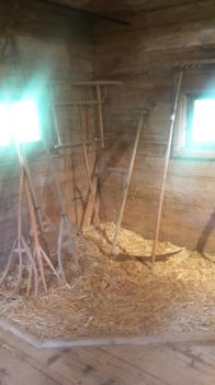 At the Farmhouse Museum (Grain barn) by Pit7