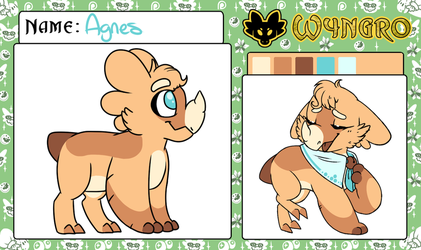 Agnes the Wyngro (Approved!) by SmallTimidBean