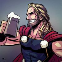 Mugshot Monday: Thor by AndrewKwan