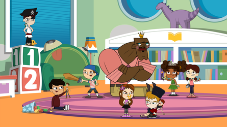 Total DramaRama - A Day at the Daycare by MigueLLima1999