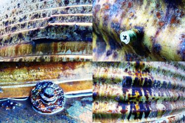 Water Tank Abstract by Prussan