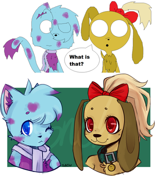 ((2012-13 REDRAW)) BerryPelt n Elly by Snohy