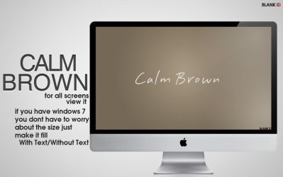 CalmBrown_wall by BlankID