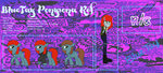 .: Ponysona Official Ref Page :. by BIueTay
