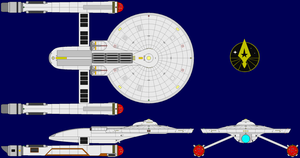 USS Ares (upgraded) by kavinveldar