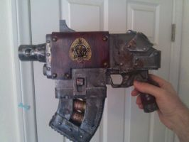 Inquisitor WIP:  Bolter 04 by Bag-of-hammers