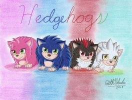 Hedgehogs by GothNebula