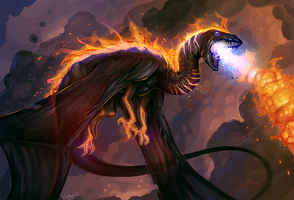 Flamecaller by Lanasy