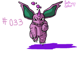 #033 Nidorino by SaintsSister47