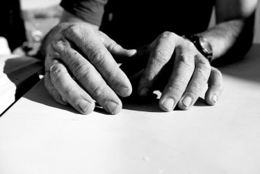 My dad's hands... by Pidon-animal