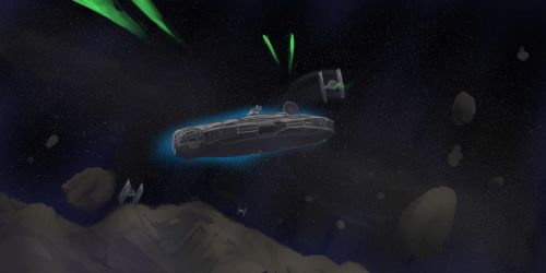Empire-asteroid belt chase by Noben