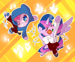 Chibi Ponydance by thegreatrouge