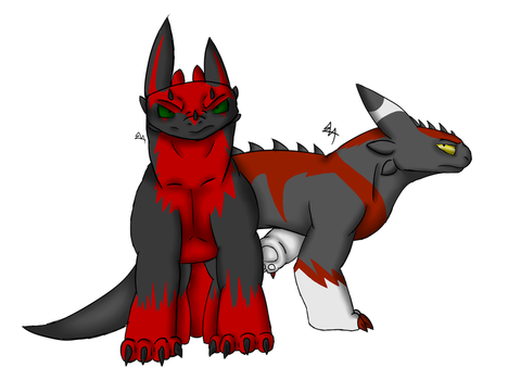 Vaz and Guimosh :AT: by dragonfan810