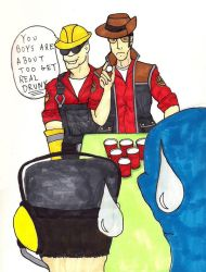 Beer Pong TF2 by Jackov