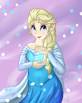 Commission - Queen Elsa by VictoryDanceOfficial