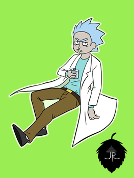 Rick Doodle by AUselessPinecone