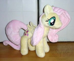 Pony Plush - Fluttershy by RadiantGlyph