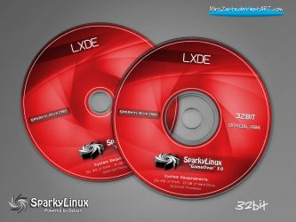 SparkyLinux 3.0 GameOver-LXDE-Labels by MiroZarta