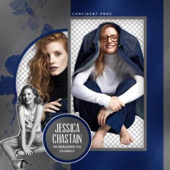 Png Pack 971 // Jessica Chastain by confidentpngs
