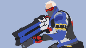 Soldier: 76 from Overwatch by Reverendtundra