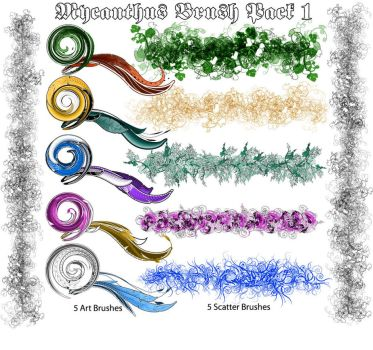 mycanthus brush pack 1 by r2010