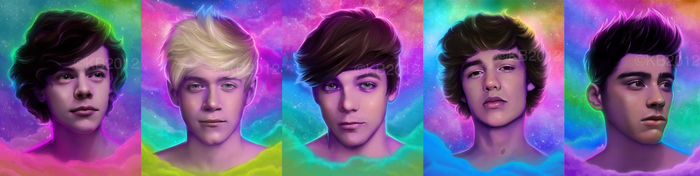 One Direction by greendesire