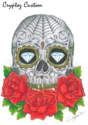 Skull and Roses by CrYpToZ