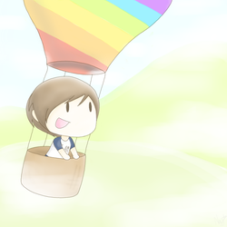 Hot Air Balloon by LadyxOwl